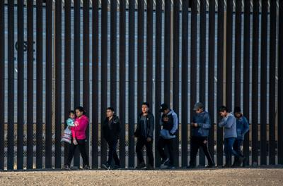 Migrant apprehensions at U.S.-Mexico border up 71% from February