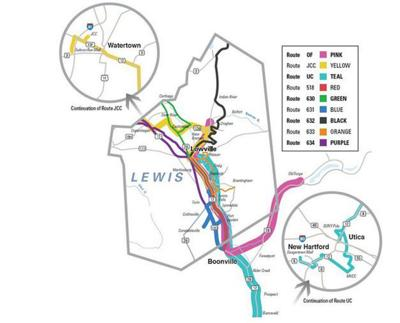 Transportation plan updated in Lewis County