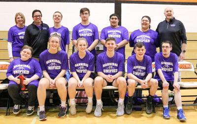 Hannibal's Unified Basketball team ignites purple pride
