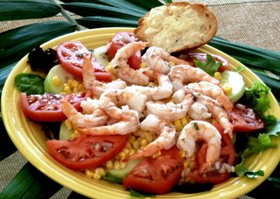 Shrimp salad is perfect dish to pack for Labor Day picnic