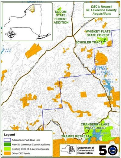 DEC adds to state land in three counties