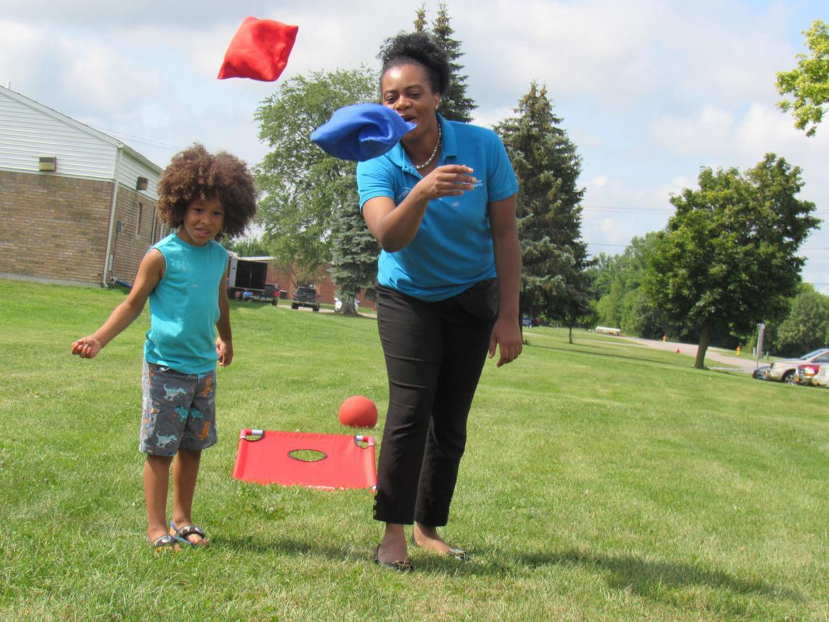 Massena Housing Authority residents mix learning, fun