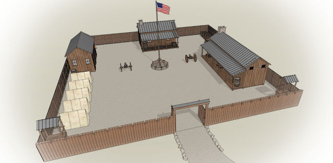 Museum will build replica of fort