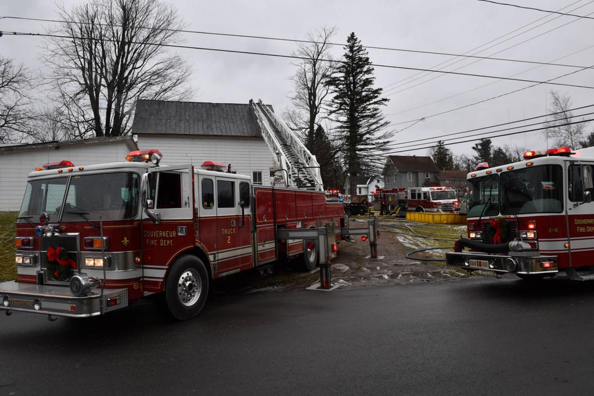 Crews quickly quell house fire in Gouverneur