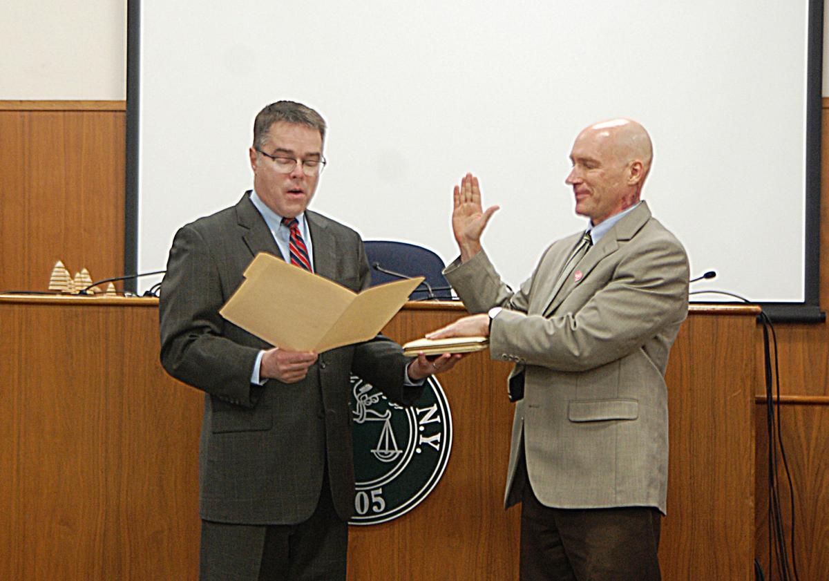 Moser, Virkler sworn in to Lewis County offices