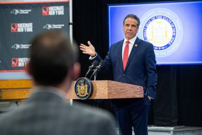 GOP chair blasts reps who still back Cuomo