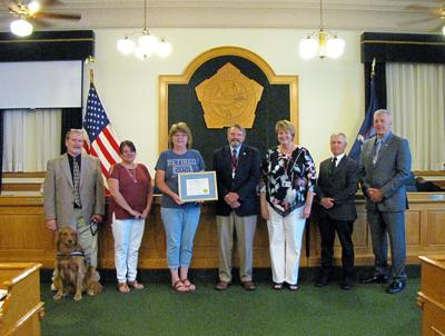 Oswego County recognizes Chetney on retirement