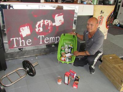 Massena man again collecting food to benefit Neighborhood House