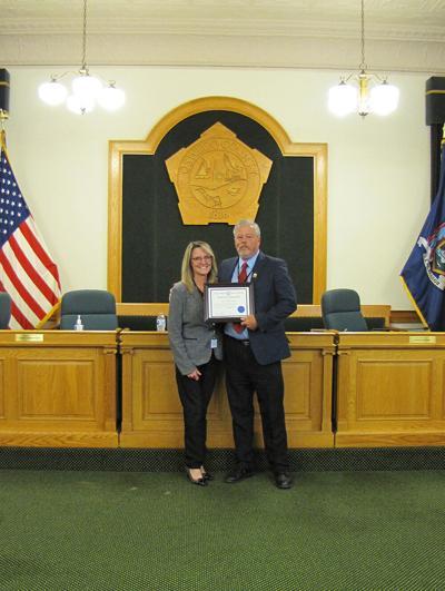 Clerk of the legislature recognized