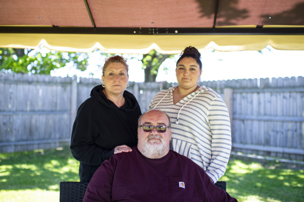 Family still coping with COVID effects