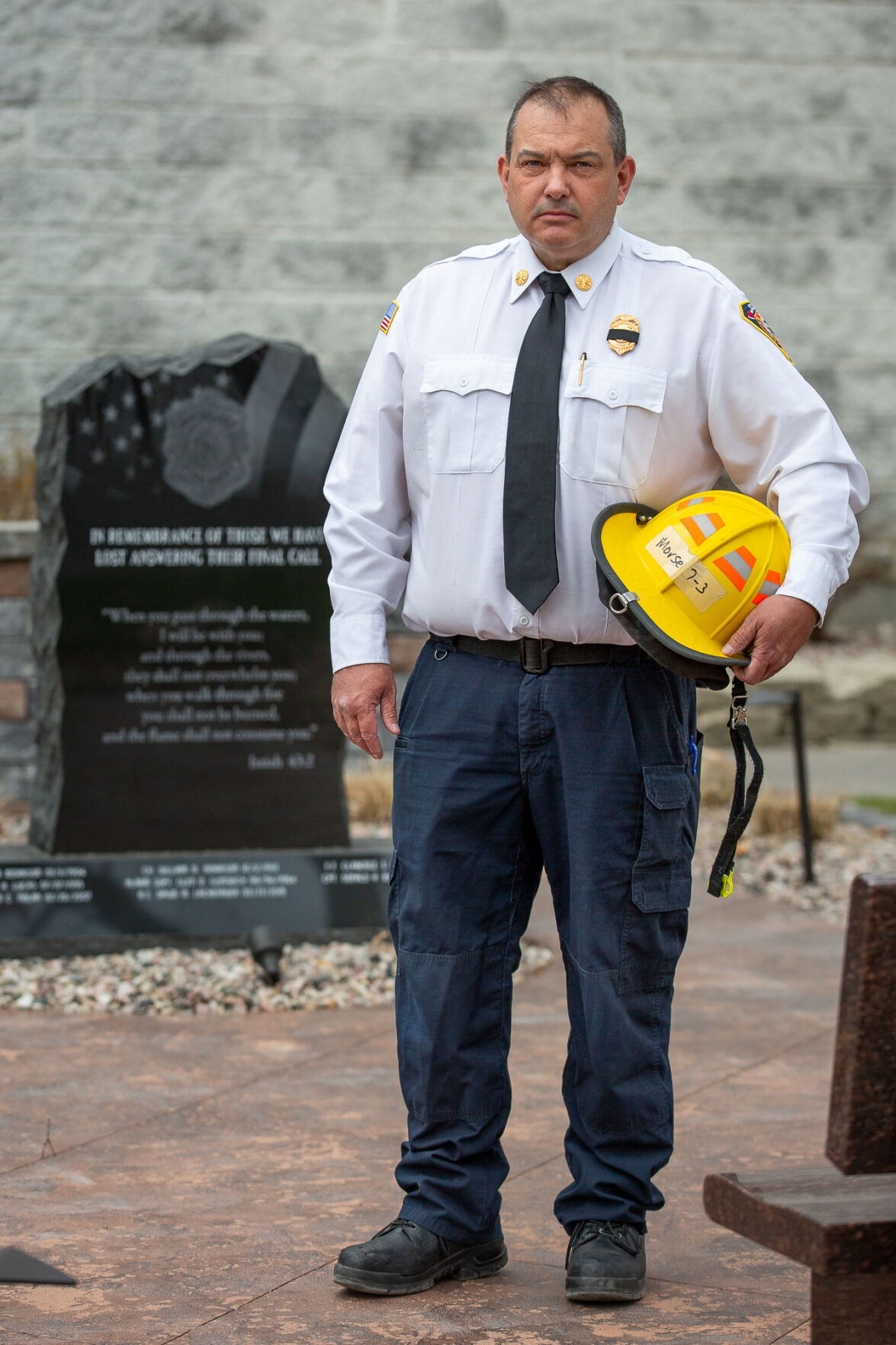 Fire chief dealing with Morse death