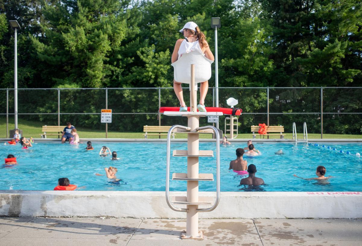 City pool dedication is a family affair