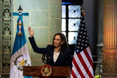 Vice President Harris meets with Mexico's Lopez Obrador to discuss border issues