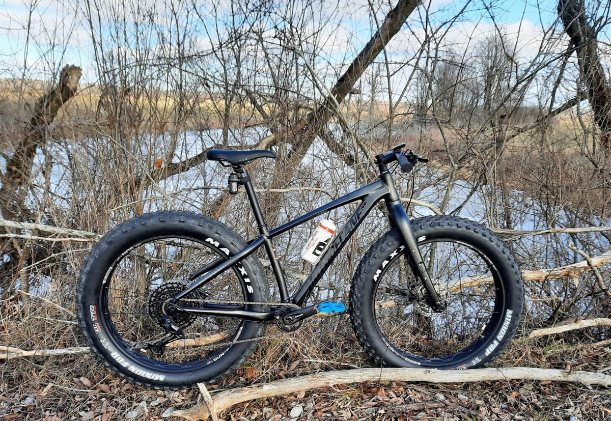 Big, fat bike adventure A link to the past, and future, on the Rivergate trail