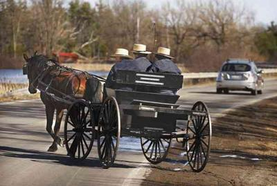 Oswego County legislators discuss Amish buggy safety