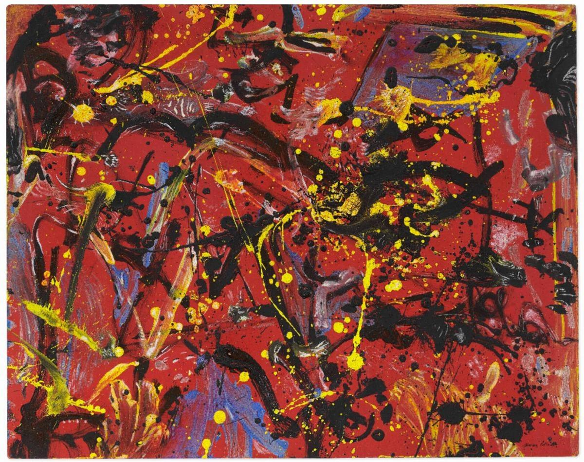 Everson's Pollock painting sells for $12M