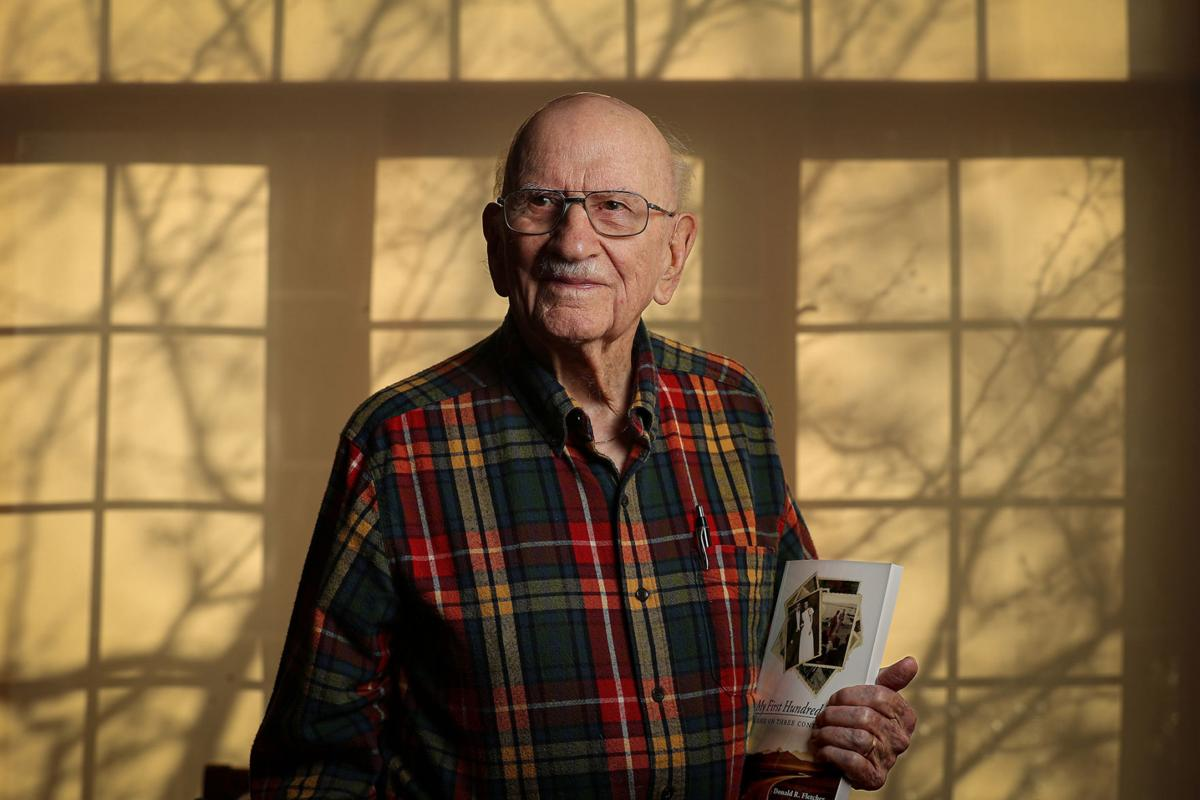 At 101, 1his preacher-turned-author has plenty of new chapters