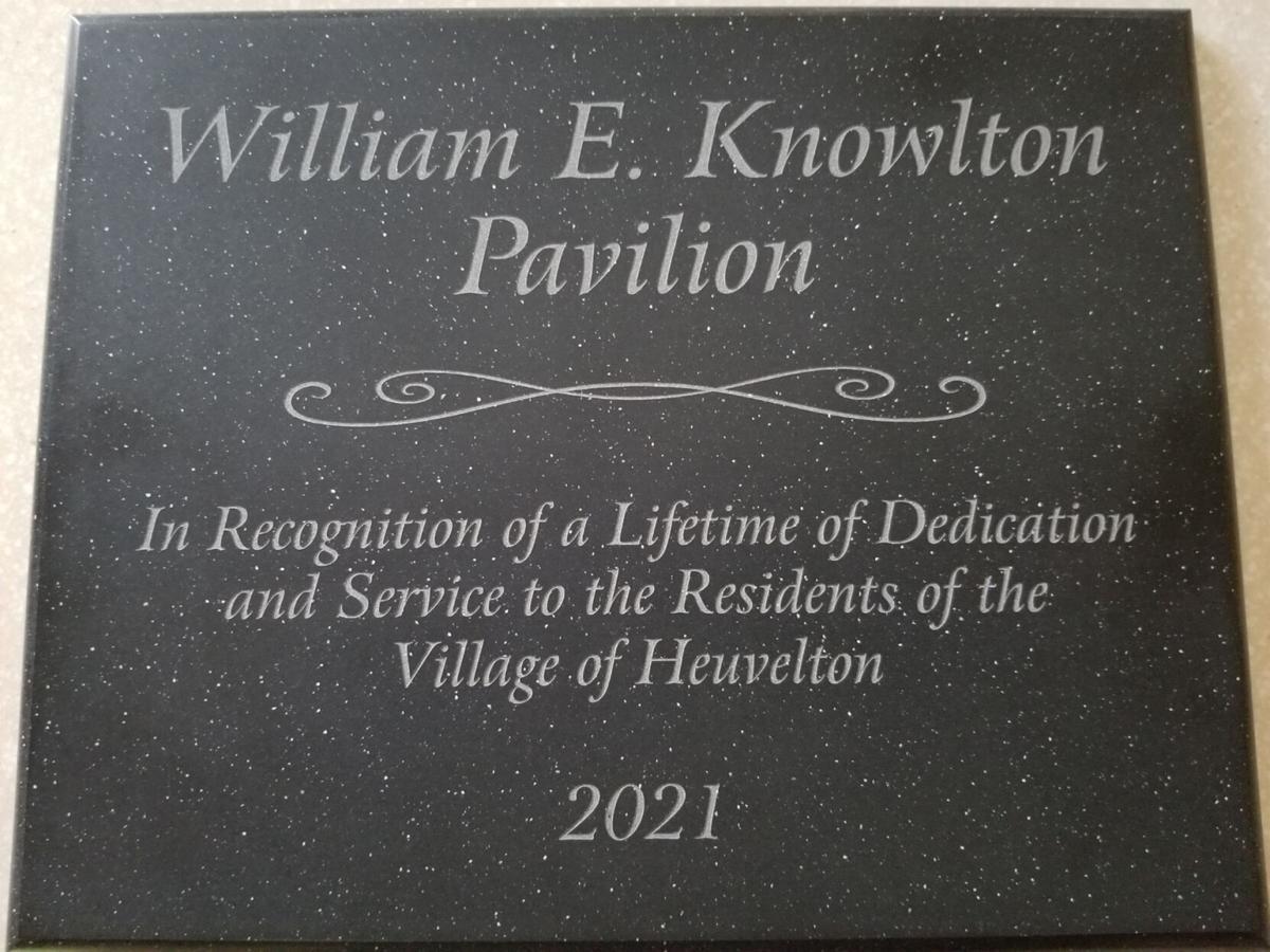 Heuvelton pavilion to be named after Knowlton
