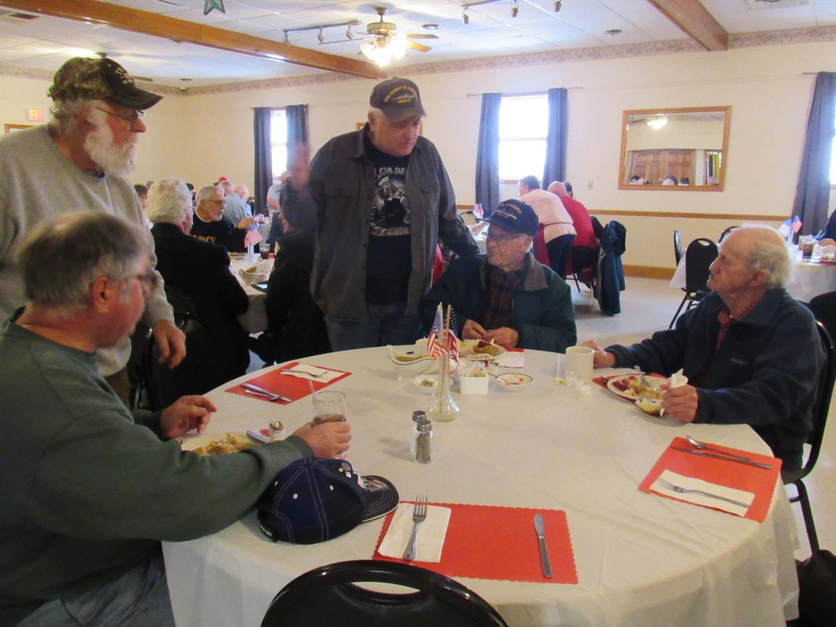 Massena Elks Lodge serves free turkey dinner to vets