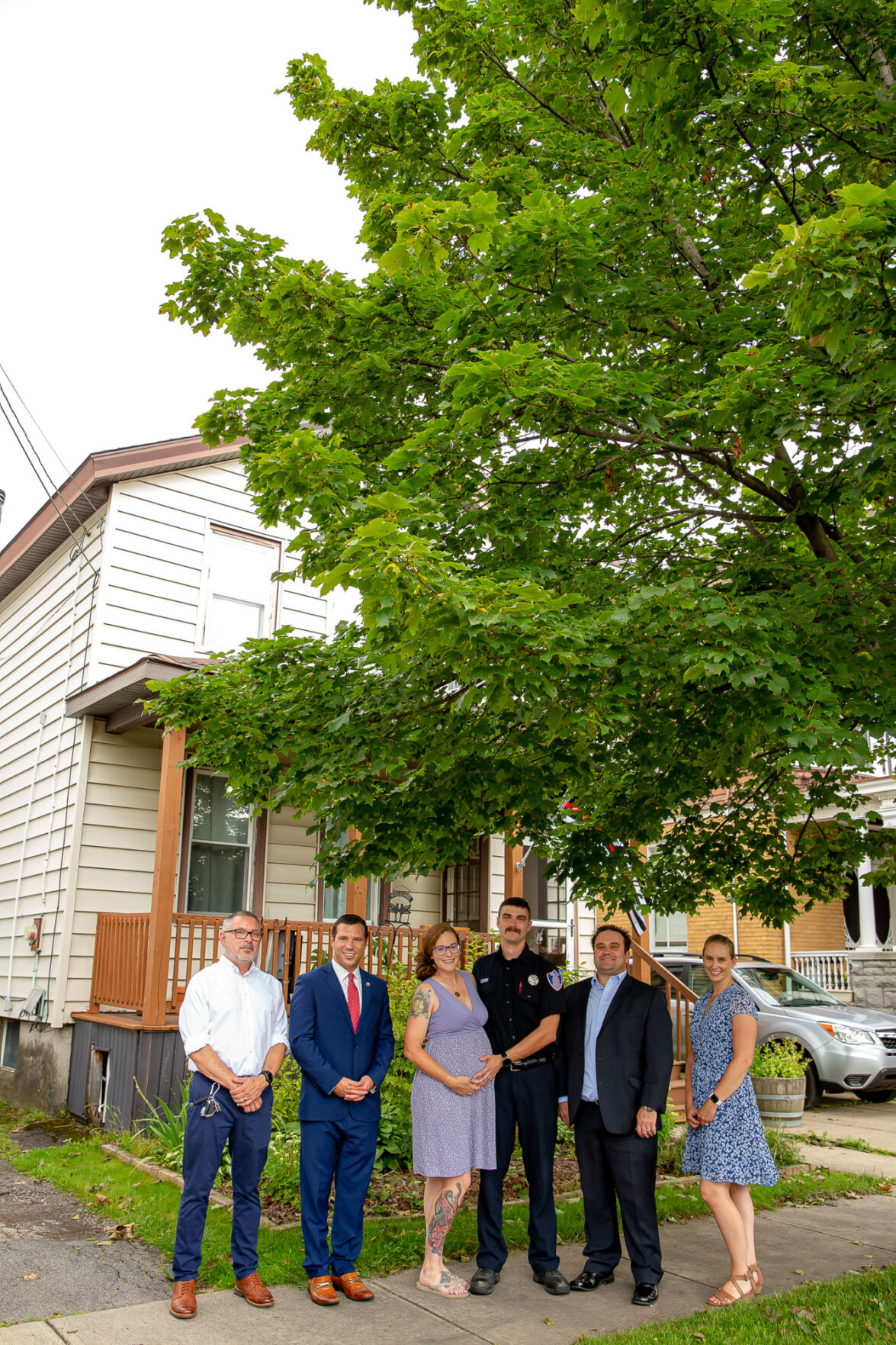 First frontline workers purchase homes using new Heroes as Neighbors Program