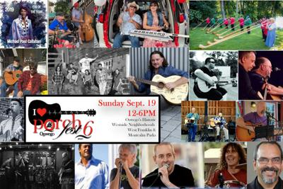 60 acts/bands scheduled for Oswego PorchFest