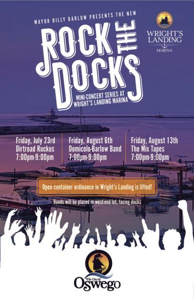 """Rock the Docks"", new concert series at Wright's Landing Marina"