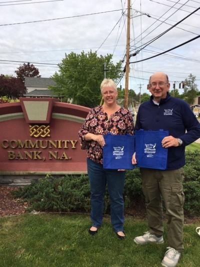 Community Bank helps save the river in bag effort