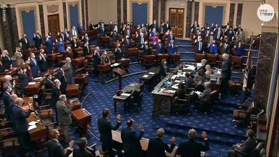 Senate trial doesn't violate First Amendment rights