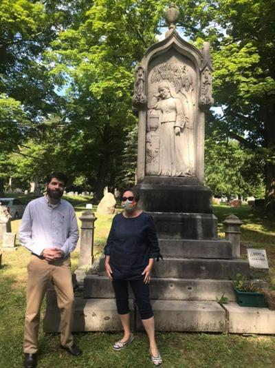 A 200th birthday passes quietly in Riverside Cemetery of Oswego