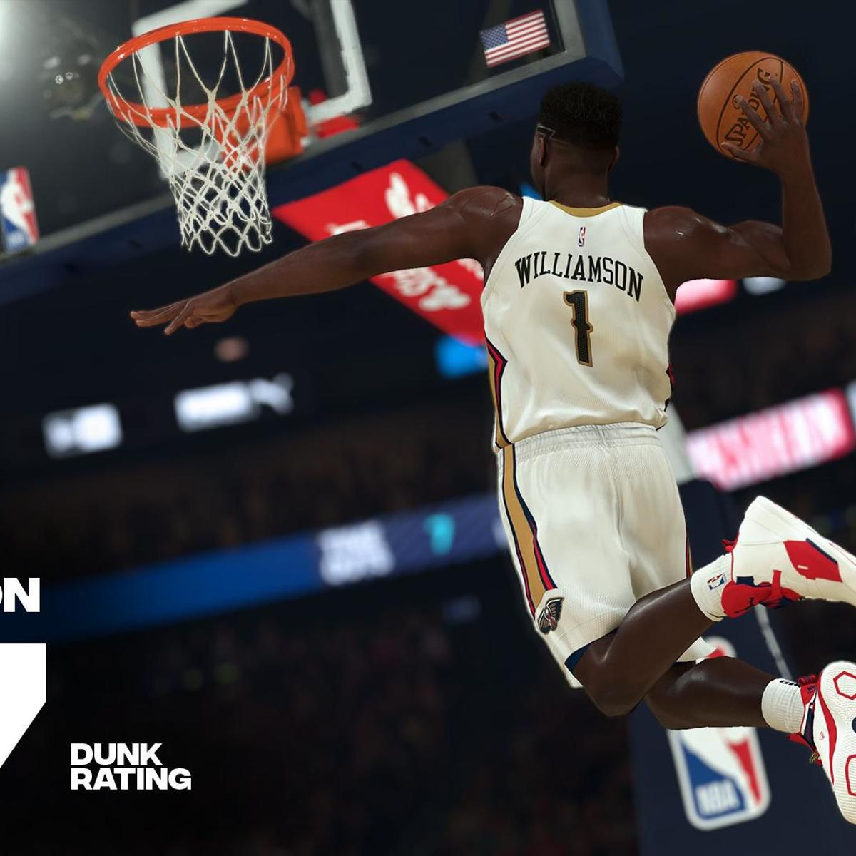 The Best Dunker In Nba 2k20 Pelicans Rookie Zion Williamson Game