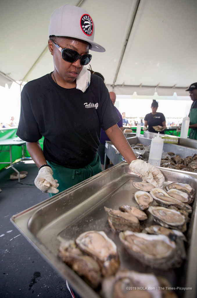 See photos from the New Orleans Oyster Festival 2019