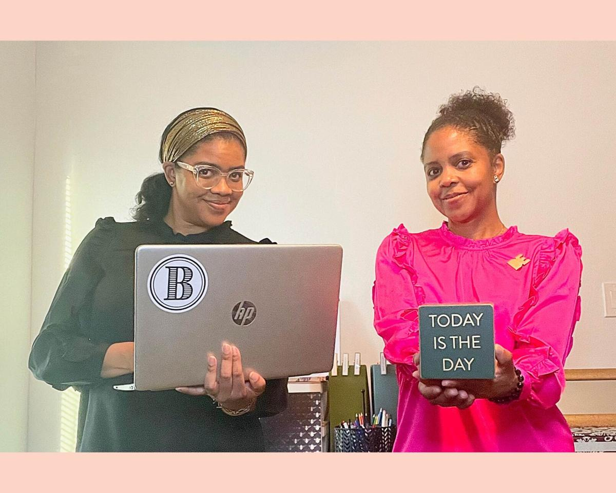 Just BE owners and founders Briana and Erica Spruille
