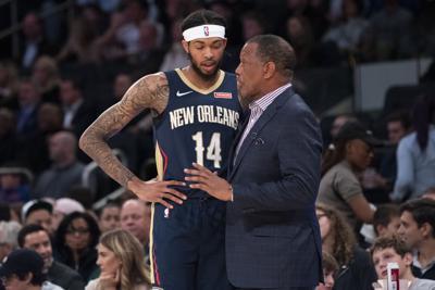 Pelicans Knicks Basketball