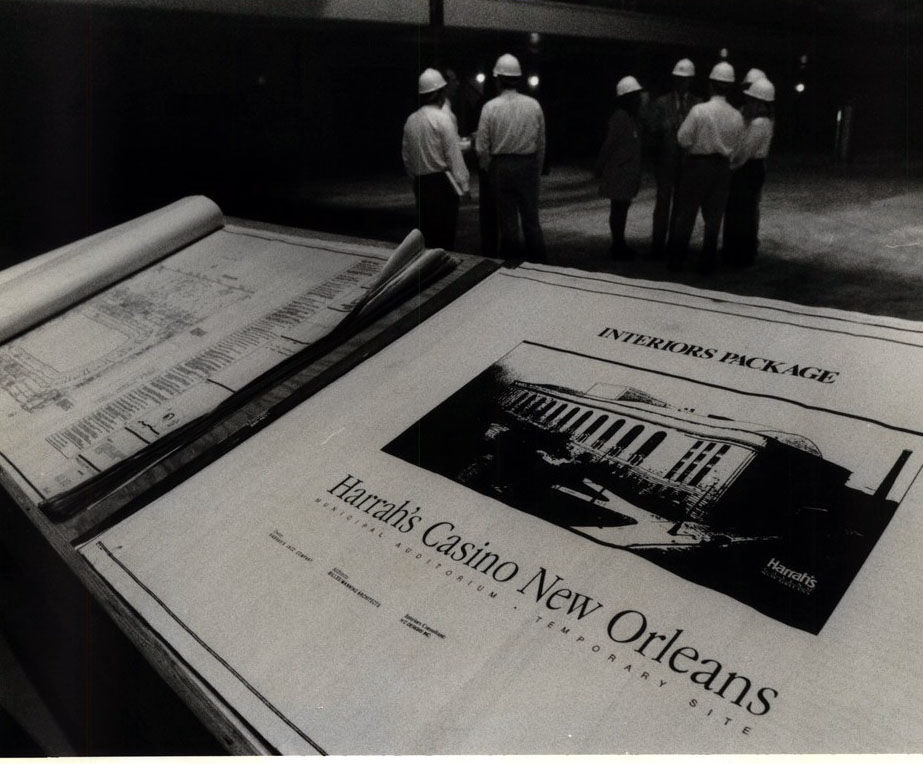 1995: Harrah's opened in New Orleans, but not on Canal Street. See the history, in photos