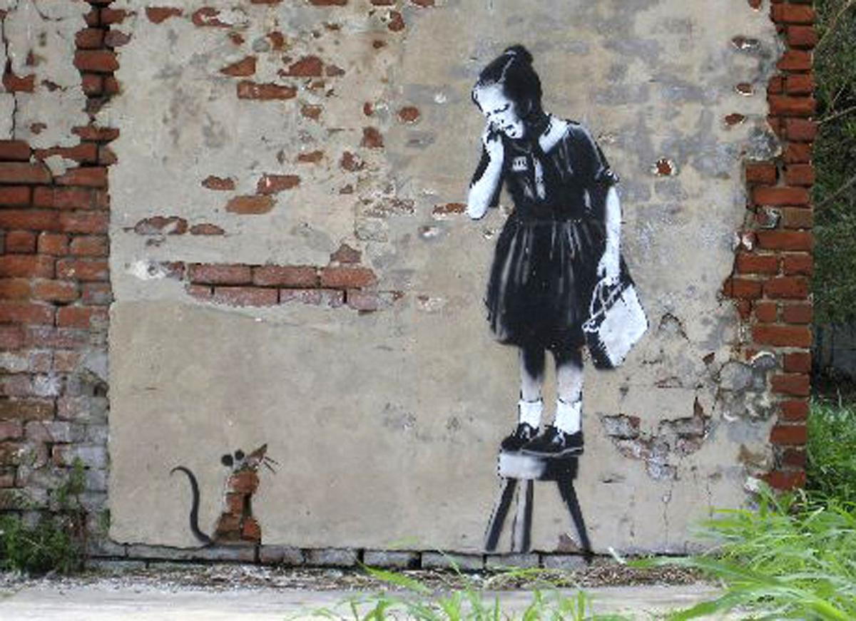 Banksy fifth anniversary tour recalls 2008 New Orleans visit