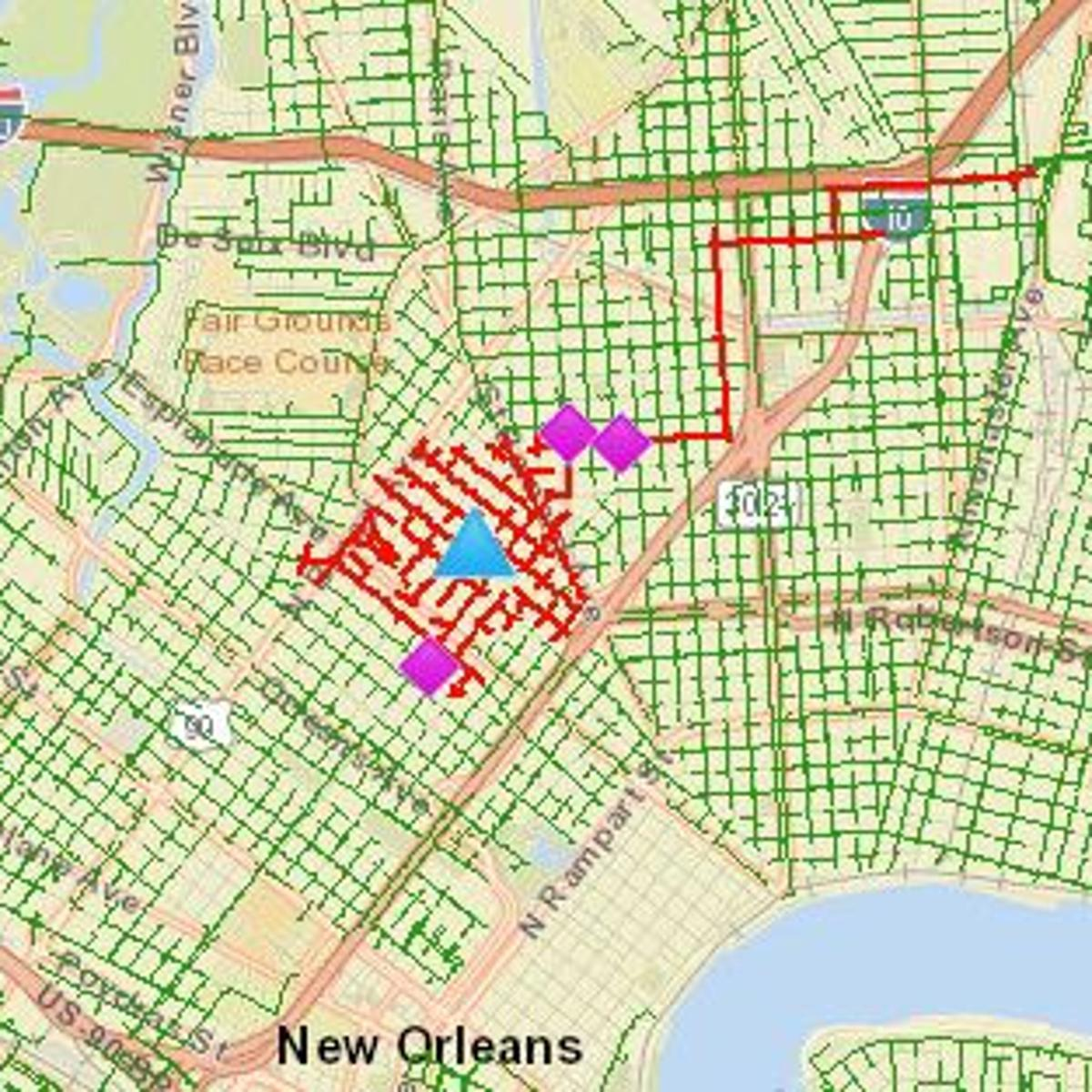 2 400 Plus Lose Power In The New Orleans 7th Ward News Nola Com