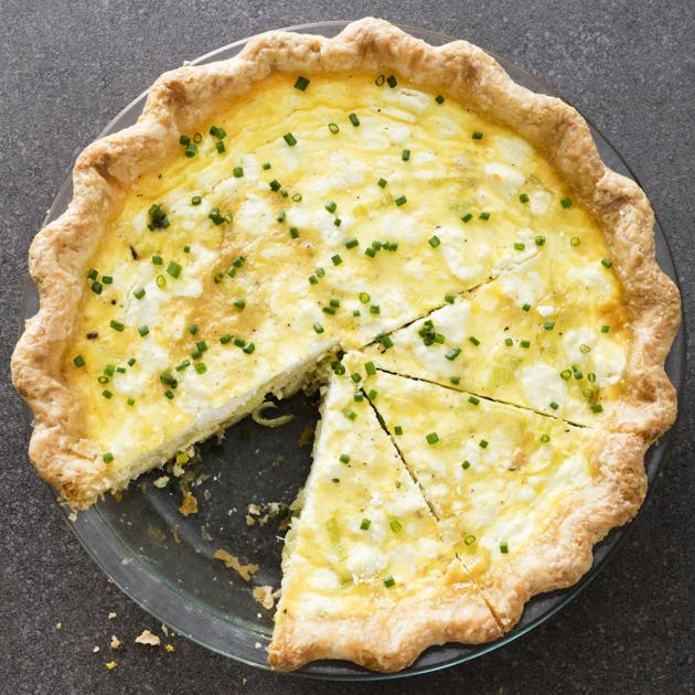 Cook This: Leek and Goat Cheese Quiche is next-level good