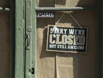 Coronavirus file photo stock of unemployment closed business