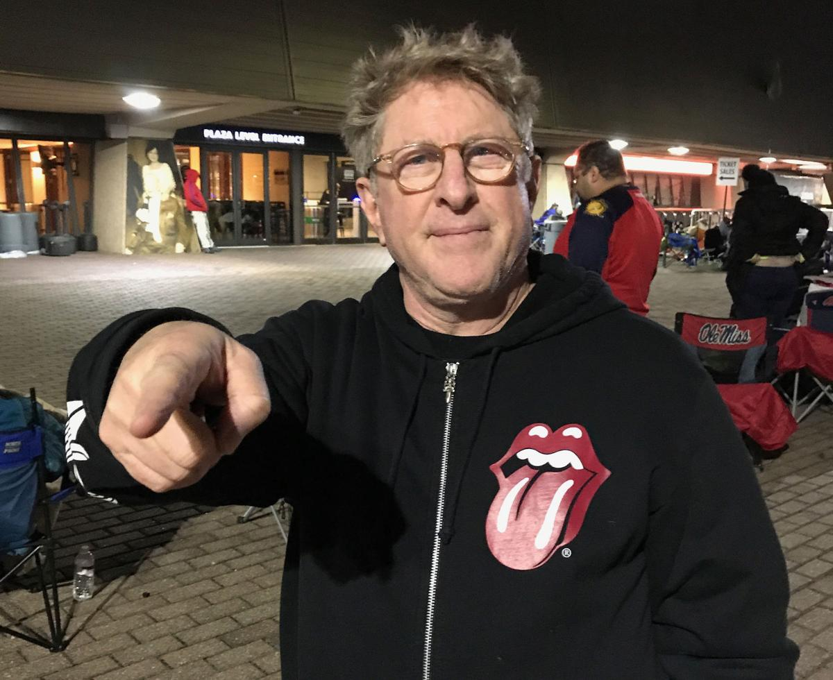 Rolling Stones fans shiver through the cold night for advance tickets