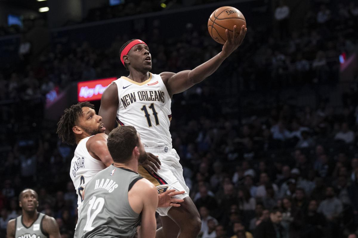 Pelicans Nets Basketball