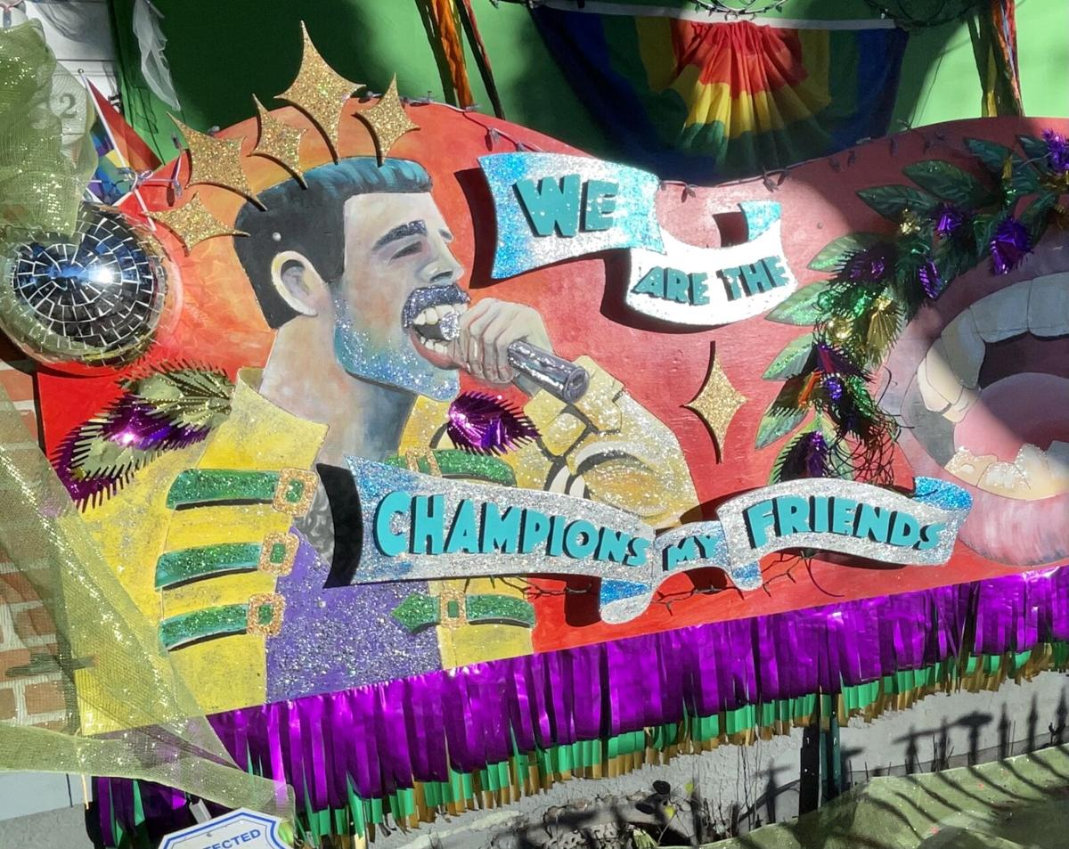 'We are the Champions,' Societe Des Champs Elysee float house, 1205 Elysian Fields Ave. 2.jpeg