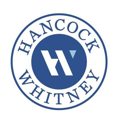 Hancock Whitney begins rebranding its banks with a new logo ...
