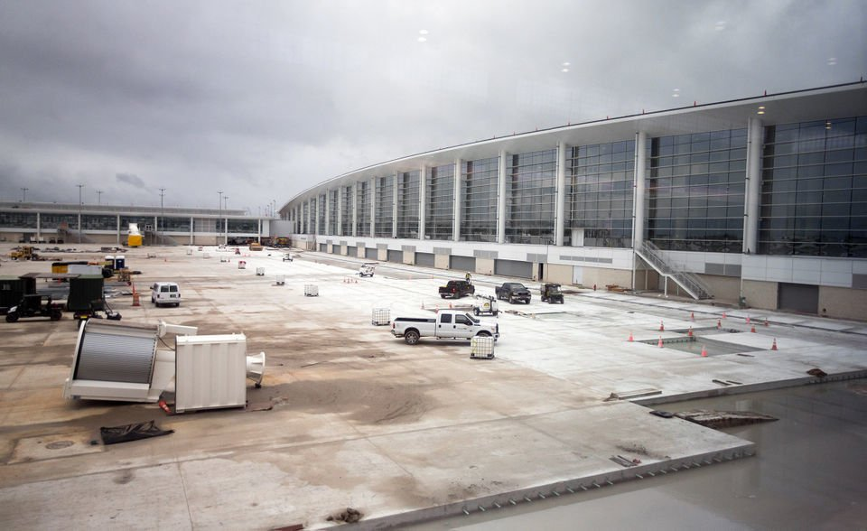 Take a look inside New Orleans' new $1 billion airport terminal