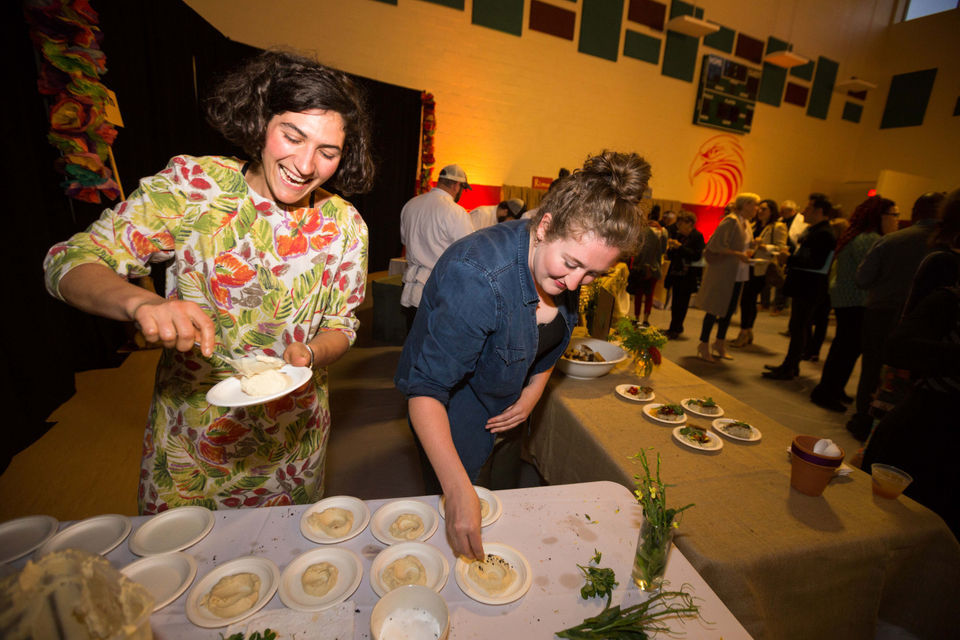 An Edible Evening is a feast for the senses for Edible Schoolyard benefit