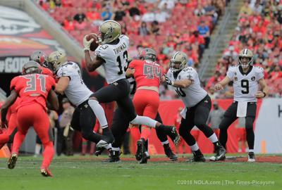 New Orleans Saints vs Tampa Bay Buccaneers Sunday, Dec. 9, 2018