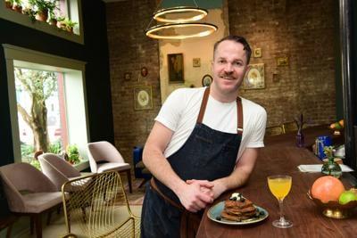 Seed_Chef_Daniel_Causgrove_with_Blueberry_buckwheat_pancake.JPG