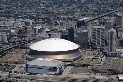Smoothie King Center Superdome stock