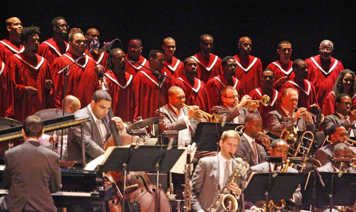 Wynton Marsalis on the Jazz Fest poster, touring & new record