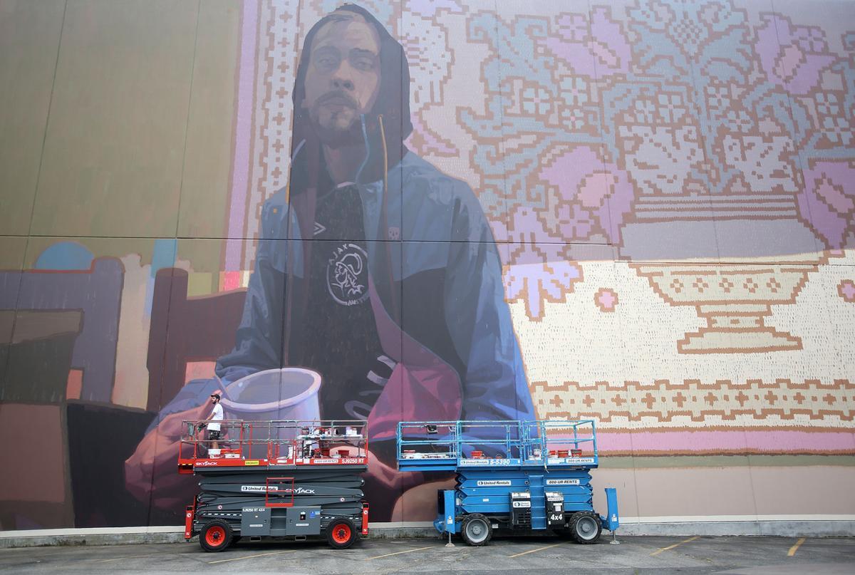 5 major murals add splash to the CBD skyline: See them Saturday
