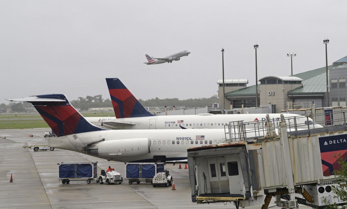 Resultado de imagen para Hurricane Barry in Louis Armstrong Airport